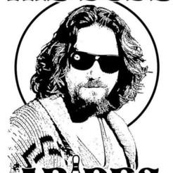 Download 3D printer designs The dude Abides wall hanging, jwmustanggt