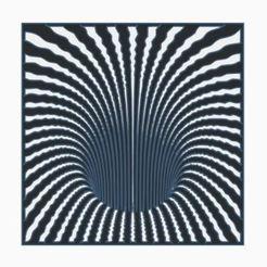 Optical illusion hole.JPG Download STL file Optical Illusion Hole • Object to 3D print, jwmustanggt