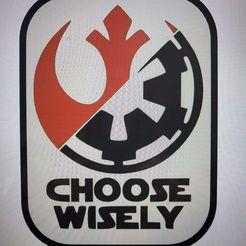 Télécharger STL Star Wars Choisissez judicieusement l'accrochage des panneaux/murs, jwmustanggt