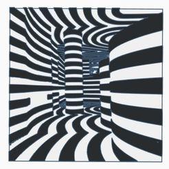 Optical illusion Columns.JPG Télécharger fichier STL Colonnes d'illusions optiques • Plan pour impression 3D, jwmustanggt