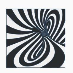 optical illusion twist.JPG Télécharger fichier STL Illusion optique • Design imprimable en 3D, jwmustanggt