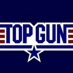 Download STL files Top Gun wall hanging, jwmustanggt