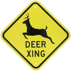 Download 3D printing designs Deer Xing sign, jwmustanggt