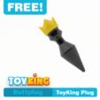 Download free 3D printer files ToyKing buttplug, Toyking