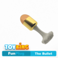 Download STL The bullet - Buttplug, Toyking