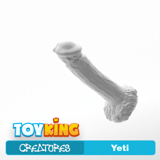 Download 3D printer files Yeti - Dildo, Toyking