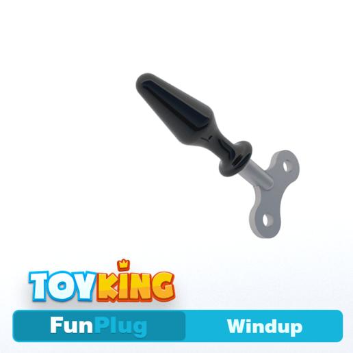 Download 3D printing designs Windup - Buttplug, Toyking