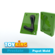 Download 3D printer templates Pspot  mold - Prostate, Toyking
