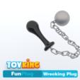 Download 3D printing models Wrecking plug - Buttplug, Toyking