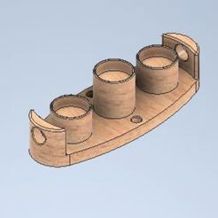 Capture.JPG Télécharger fichier STL Porte bougeoirs (Candle holder) • Objet à imprimer en 3D, Abdou91