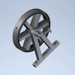 Capture00.JPG Télécharger fichier STL Ferris Wheel Christmas (Grande Roue de Noel) • Modèle imprimable en 3D, Abdou91