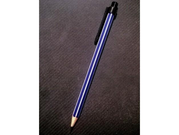 5828283cd034807de14c3749e547c65a_preview_featured.jpg Download free STL file Basic Pencil Clip • 3D printer model, jolang