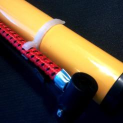 fichier 3d gratuit Support de tuyau de pompe, jolang