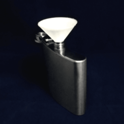 Capture d'écran 2018-03-12 à 14.51.58.png Download free STL file Flask Funnel • 3D print design, jolang