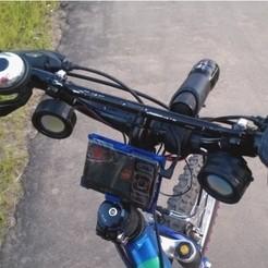 objet 3d gratuit Titulaire de bicyclette, jolang