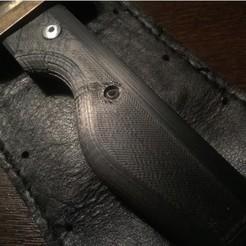 modèle 3d gratuit Poignée de couteau, jolang