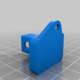 Download free 3D model Ikea Vidga curtain stop for low clearance, Blizz