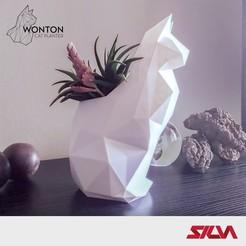 Descargar diseños 3D Sembrador de gatos Wonton, silva3d