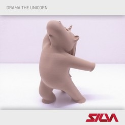 Download 3D printing models Drama the Unicorn, silva3d