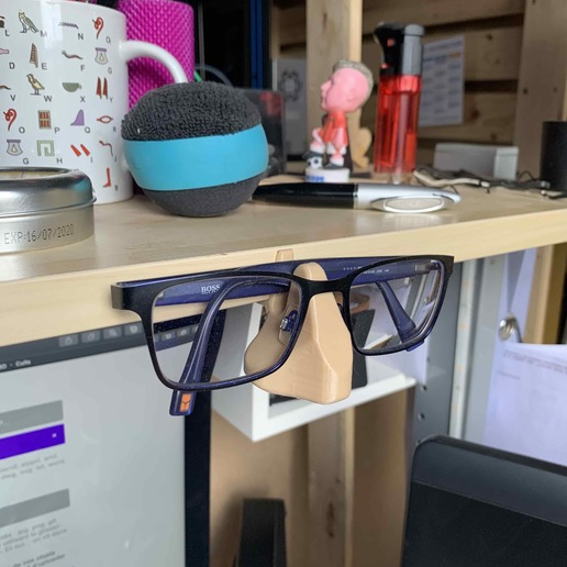 Download 3D printer designs Spectacle support, nivalvincent