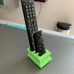 Descargar Modelos 3D para imprimir gratis Soporte para el control remoto, nivalvincent