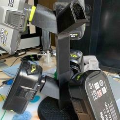 Descargar modelo 3D Almacenamiento de baterías Ryobi, nivalvincent
