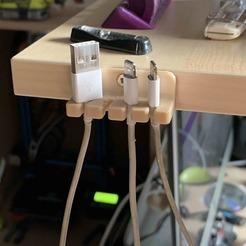 Suppor.jpg Télécharger fichier STL gratuit Porte câbles  • Plan pour impression 3D, Nivalvincent