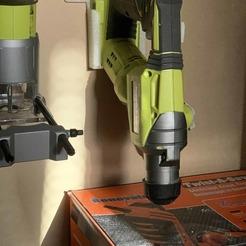 Download free 3D model MACHINE STAND RYOBI ONE PLUS, nivalvincent