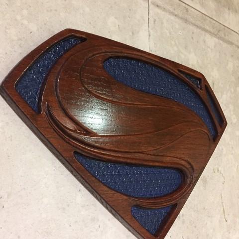 IMG_2032.JPG Télécharger fichier STL gratuit Superman • Plan à imprimer en 3D, i8bnsober
