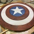 Free STL Captain America Shield, i8bnsober