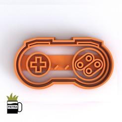 cults7.jpg Télécharger fichier STL JOSTICKS Super Nintendo CUTTING MOULD POUR LES CALLETS FONDANTS • Design imprimable en 3D, Gustavo015