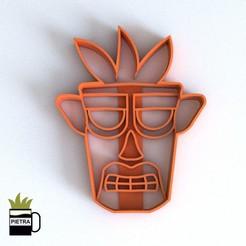 Download 3D printer templates FONDANT AKU AKU COOKIE CUTTER, Gustavo015