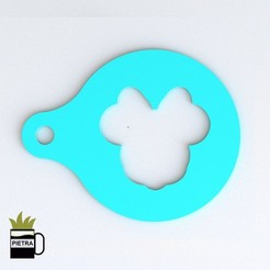 cults 4.jpg Download STL file MINI MOUSE DISNEY TEMPLATE TO DECORATE YOUR DISNEY BREAKFASTS • 3D printing object, Gustavo015