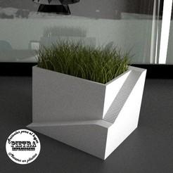 Download 3D printer templates Pot for interior 03, Gustavo015