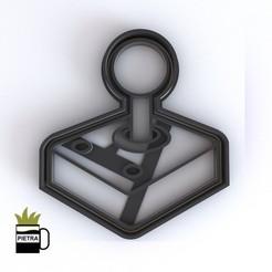 cults14.jpg Télécharger fichier STL JOSTICKS Atari CUTTING MOULD FOR FONDANT CALLETS • Modèle à imprimer en 3D, Gustavo015