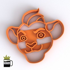 cults2.jpg Download STL file LION GUARD FONDANT COOKIE CUTTER MOLD KION PRINT MODEL 3D • 3D print template, Gustavo015