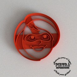 STL file Cutting Mould For Fondant Cookies The Incredibles- Helen Parr (Elastigirl), Gustavo015