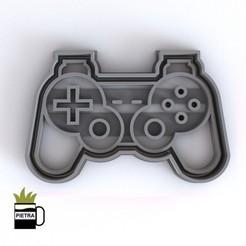 cults6.jpg Télécharger fichier STL JOSTICKS Playstation 1-2-3 COUPER LE MOULIN POUR LES CALLETS FONDANTS • Design pour impression 3D, Gustavo015