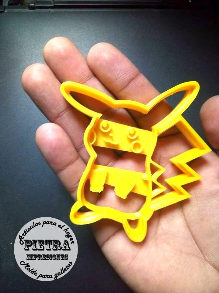 5.jpg Download STL file Pokémon Cake Cutter • Object to 3D print, Gustavo015