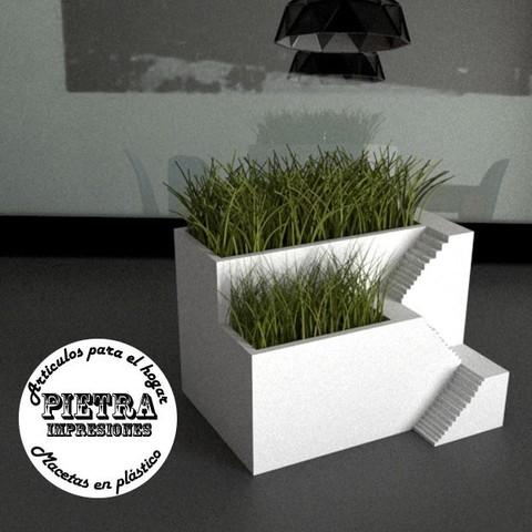 Download 3D print files Flowerpot for interior 01, Gustavo015