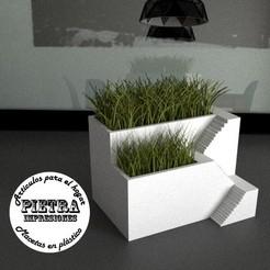 3D print files Flowerpot for interior 01, Gustavo015