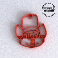 3D printing model CUTTING MOULD FOR FONDANT DUMBO (TIMOTEO) DISNEY BISCUITS, Gustavo015