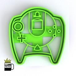 cults13.jpg Télécharger fichier STL JOSTICKS Sega Dreamcast MOULD DE COUPE POUR LES CALLETS FONDANTS • Modèle à imprimer en 3D, Gustavo015