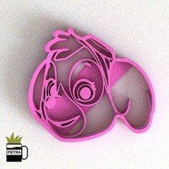 CULTS10.jpg Download STL file PAW PATROL SKYE FONDANT COOKIE CUTTER • Design to 3D print, Gustavo015