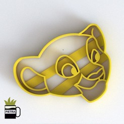 cults4.jpg Download STL file LALA FONDANT COOKIE CUTTER • 3D printable template, Gustavo015