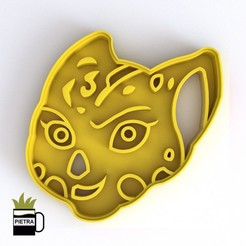 cults3.jpg Download STL file LION GUARD FONDANT COOKIE CUTTER MODEL FULI 3D PRINT • 3D printing object, Gustavo015