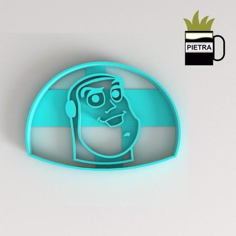 Télécharger fichier impression 3D BUZZ TOY STORY : UN MOULE À BISCUIT FONDANT, Gustavo015