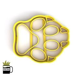 Télécharger plan imprimante 3D SIMBA FOOTPRINT FONDANT COOKIE CUTTER, Gustavo015