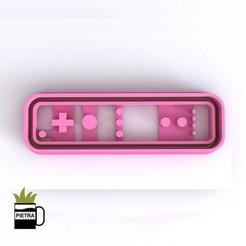 cults9.jpg Télécharger fichier STL JOSTICKS Nintendo Switch CUTTING MOULD POUR LES APPELS FONDANTS • Design imprimable en 3D, Gustavo015