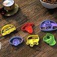 Télécharger plan imprimante 3D Biscuits Toy Story Biscuits Moule à découper, Gustavo015